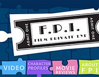 FPI: Film Private Eye Website Design
