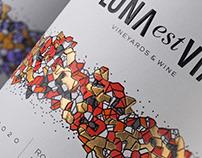 LONA est VIA wine label design