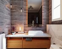 Modern Bath Room 2