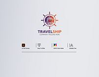 Travel Ship Logo Title Designs