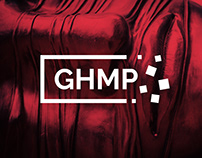 GHMP logo and visual style concept