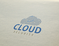 Cloud Security Logo Template