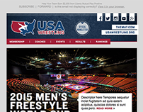 USA Wrestling Email Newsletter