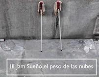 Cartel para jam de poesía y música en Madrid, 2015