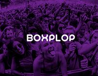 Diseño sitio web - Boxplop