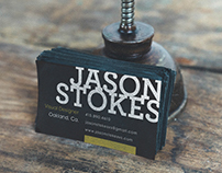 Jason Stokes Visual Solutions Branding