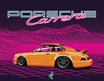 Neon Midnight: Porsche 911 (964)