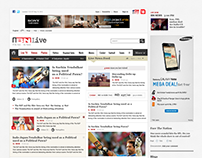 IBN Live Redesign