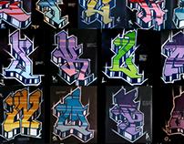 Alfabeto NY Russian Gothic.