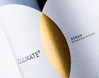 SOULMATEs wine label design by the Labelmaker