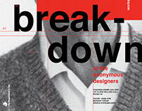 Breakdown of the Anonymous Designers