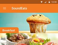 SoundEats Mobile App - UI/UX