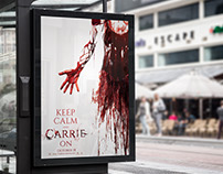 Carrie Promotional Key Art