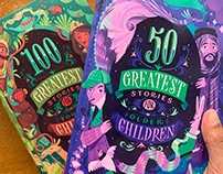 Hachette: Children's story anthology covers