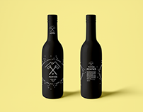 Visual identity for fictitious brewery