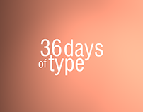 36 Days of Type / 2017
