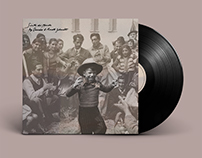 LP-album cover design of Sinti du Monde