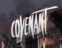 Covenant - Brush Font