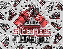 Foot Locker Sneakers All The Way