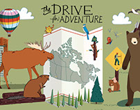 Toyota Facebook Canvas: Drive for Adventure
