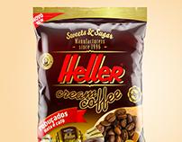Heller cream coffee sweets bag