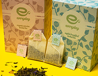 """Everyday"" Tea Packaging Design"