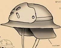 Brodie Helmet Prop Concept Art
