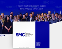 Branding, Website | Client: Stranka SMC