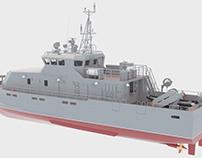21980E Grachonok anti-sabotage boat