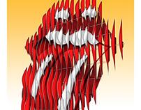 Rolling Stones - Kansas City Event Poster