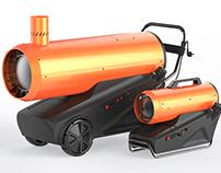 """""""Profteplo"""" Diesel heat gun"""