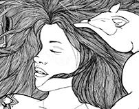 Lucrezia - Illustration project