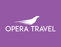 Opera Travel Logo Design