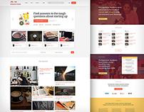 NEN - Entrepreneur Academy - Website Revamp
