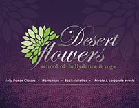 Desert Flowers Branding