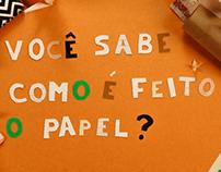 Você sabe como é feito o papel?