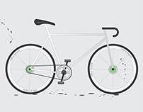 Bicycle // Illustrator