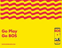 Bos ice tea poster/postcards