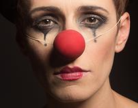 Retrato de una clown
