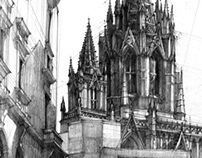 The Cathedral in Barcelona
