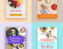 food blog banners