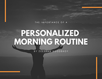 The Importance of a Personalized Morning Routine