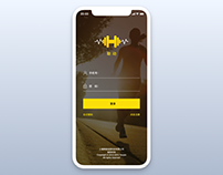 Smart fitness guide page