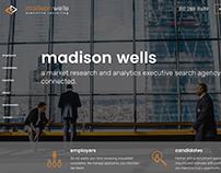 Madison Wells - Turbocharged brochure site