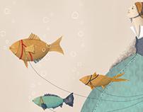 Paseando a mis peces