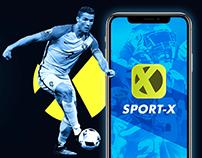 Sport-X app | UI/UX Design