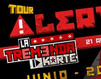 Alerta 21 tour 2015
