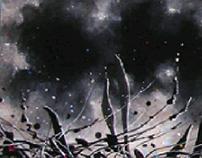 Silence Oil on Canvas , 25x100 2016