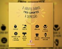 Post Rede Social - Campanha combate a Depressão