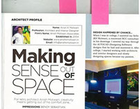 interior designer - making sense out of space